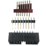 Picture for category Rectangular Connectors - Headers, Receptacles, Female Sockets